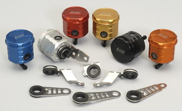 Aprilia RSV4 Bremsflüssigkeitsbehälter CNC Aluminium mit Halter Brems Behälter vorn RSV 4
