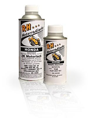 NEON Motorradlack Spritzlack Farbe 3 x 375 ml Vorlack weiß Neonlack Klarlack Motorradlackierung