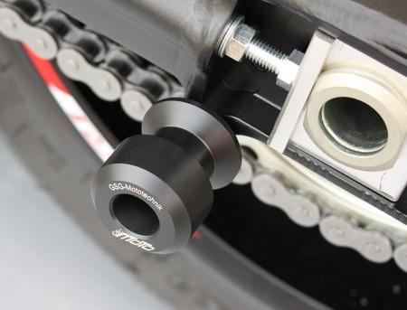 Padsatz Sturzpads Montageständeraufnahme Heckständeraufnahme und Schwingenschutz mit 10 mm Schwingen